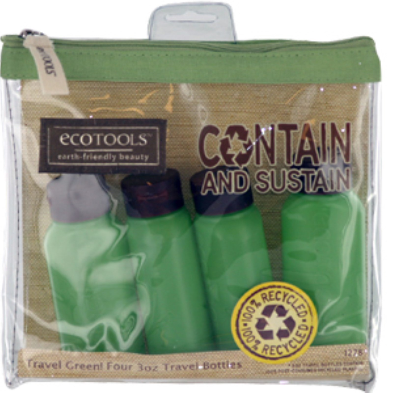 EcoTools Contain and Sustain Travel Bottle Set