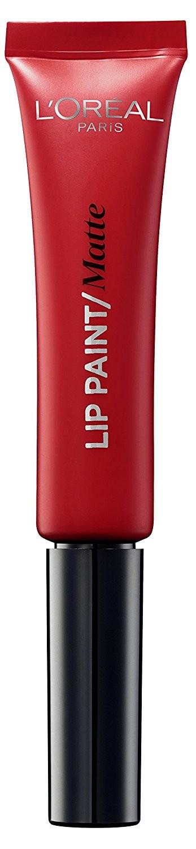 L'Oreal Paris Infallible Lip Paint Matte 8ml - 204 Red Actually