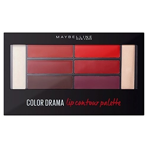 Maybelline Color Drama Lip Contour Palette – 01 Crimson Vixen